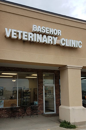 Basehor Vet Outside View